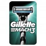 Gillette Mach3 recenze, cena, návod