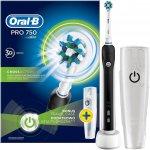 Oral-B Pro 750 CrossAction Black recenze, cena, návod