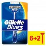 Gillette Blue3 8 ks recenze, cena, návod