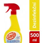 Savo univerzální dezinfekční sprej 500 ml recenze, cena, návod