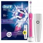 Oral-B Pro 750 3D White Pink recenze, cena, návod