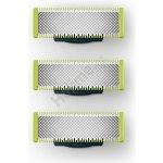Philips OneBlade výměnné břity 3 ks QP230/50 recenze, cena, návod
