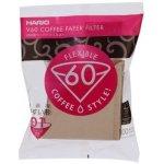 Papírové filtry Hario V60-01 100 ks, nebělené (VCF-01-100M) recenze, cena, návod