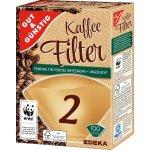 G G Filtry do kávovarů velikost 2, 100ks recenze, cena, návod