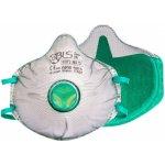 BLS Zer0 30C respirátor FFP3 R D s aktivním uhlím 1 ks recenze, cena, návod