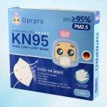 Oprpro respirátor FFP2 / KN95 1 ks recenze, cena, návod