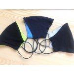 Trops-Sport bavlněná černá rouška za uši Černobílá recenze, cena, návod