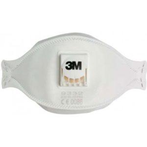 3M Aura 9332+ respirátor FFP3 recenze, cena, návod
