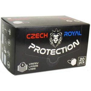 Czech Royal Protection respirátor FFP2 20 ks recenze, cena, návod