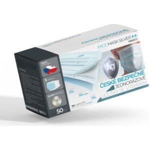 Nanolab bezpečné roušky s NanoSilver ochranou 50 ks recenze, cena, návod