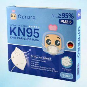 Oprpro respirátor KN95 1 ks recenze, cena, návod