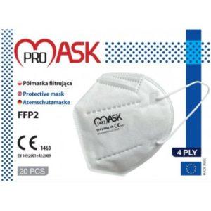 ProMask respirátor FFP2 20 ks recenze, cena, návod