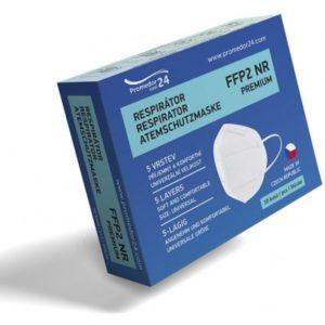 Promedor24 Respirátor FFP2 PREMIUM 10 ks recenze, cena, návod