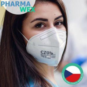 PHARMAWEX CZ01 FFP2 NR CE recenze, cena, návod