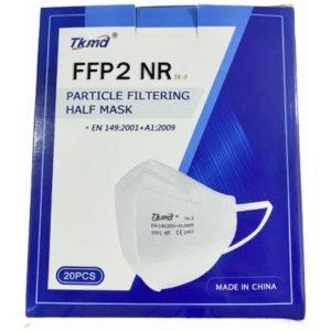 TKMD respirátor FFP2 NR 20 ks recenze, cena, návod