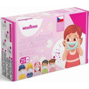 Mesaverde dětská obličejová maska pro holky 25 ks recenze, cena, návod