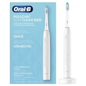 Oral-B Pulsonic Slim Clean 2000 recenze, cena, návod