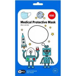 Pharma Activ rouška ústenka Medical 3-vrstvá jednorázová Chlapecká modrá 10 ks recenze, cena, návod
