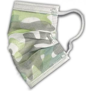 RespiLAB Dětské jednorázové roušky vojenské maskáčové 10 ks recenze, cena, návod