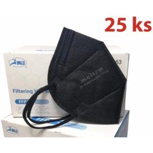 HO-Comfort respirátor FFP2 ČERNÝ 25 ks recenze, cena, návod