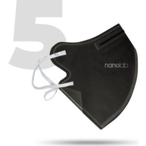 Nanolab bezpečný nano respirátor FFP2 černý 5 ks recenze, cena, návod